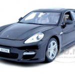 2011 Porsche Panamera Turbo Grey 1/18 Diecast Model Car by Maisto