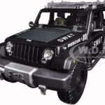 Jeep Rescue Concept Police SWAT Version 1/18 Diecast Model by Maisto