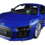 Audi R8 V10 Plus Blue 1/18 Diecast Model Car by Maisto