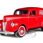 1940 Ford Sedan Delivery Coca Cola Truck 1/24 Diecast Car Model by Motor City Classics