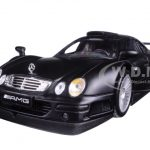 Mercedes CLK GTR Street Version Matt Black 1/18 Diecast Model Car by Maisto
