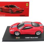 Ferrari 458 Speciale Red Signature Series 1/43 Diecast Model Car by Bburago