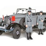 1938 Mercedes G4 Grey With 3 Figurines 1/18 Diecast Car Model by Signature Models