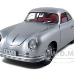 1950 Porsche 356 Coupe Silver 1/18 Diecast Model Car by Signature Models