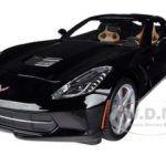 2014 Chevrolet Corvette C7 Stingray Black 1/18 Diecast Model Car by Maisto
