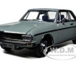 1972 Audi 100 Grey 1/18 Diecast Car Model by Signature Models