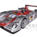2001 Audi R8 Infineon #1 2002 Le Mans Sieger 1/18 Diecast Model Car by Maisto