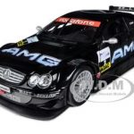 Mercedes CLK DTM AMG 2002 #2 1/18 Diecast  Model Car by Maisto