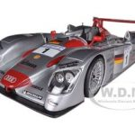 2002 Audi R8 Infineon #1 2001 Le Mans 1/18 Diecast Car Model by Maisto