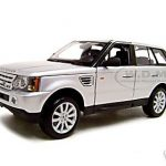 Range Rover Sport  Silver 1/18 Diecast  Model Car by Maisto