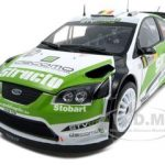 Ford Focus RS WRC07 #8 F.Duval/P.Pivato 3rd Rally Deutchland 2008 1 of 1500 Produced 1/18 Diecast Car Model by Sunstar