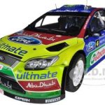Ford Focus RS WRC09 #4 J-M.Latvala/M.Anttila Winner Rally Finland 2010 Limited to 998pc 1/18 Diecast Model Car by Sunstar