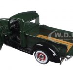 1940 Ford Pickup Truck Yosemite Green / Black 1/25 Diecast Model Car by First Gear
