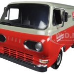1963 1960s Ford Econoline Van with Boxes Ford Tractor Parts & Service 1/25 Diecast Model by First Gear