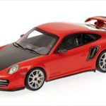 2010 Porsche 911 (997 II) GT2 RS Red With Silver Wheels  Limited Edition 1 of 500 Produced Worldwide 1/43 Diecast Model Car by Minichamps