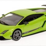 2010 Lamborghini Gallardo Superleggera LP 570-4 Green Limited Edition 1 of 1152 Produced Worldwide 1/43 Diecast Model Car by Minichamps