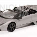 2010 Lamborghini Reventon Roadster Matt Grey  Limited to 1440pc Worldwide 1/43 Diecast Model Car by Minichamps