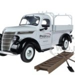 1938 International Prier Brothers D-2 Utility Pickup Truck 1/25 Diecast Model by First Gear