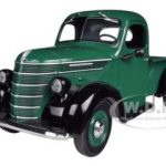 1938 International D-2 Pickup Truck IH Green / Black 1/25 Diecast Model by First Gear