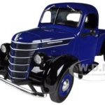 1938 International D-2 Pickup Truck IH Blue / Black 1/25 Diecast Model by First Gear