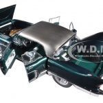 1957 Cadillac Eldorado Brougham Plantation Green 1/18 Diecast Model Car by Sunstar