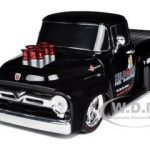 1956 Ford F-100 Pickup Truck Black Stu Hillborn 1/24 by Diecast Car Model M2 Machines