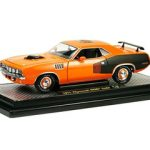 1971 Plymouth Cuda HEMI Orange 50th HEMI Anniversary 1/24 Diecast Car Model by M2 Machines