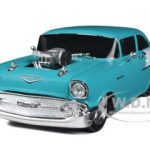 1957 Chevrolet 150 Turqouise & India Ivory Ltd to 7500pc 1/24 Diecast Model Car by M2 Machines