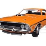 1970 Dodge Challenger R/T HEMI Orange 50th HEMI Anniversary 1/24 Diecast Car Model by M2 Machines