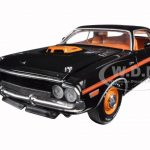 1970 Dodge Challenger R/T 426 Hemi Black 50th Anniversary 1/24 Diecast Model Car by M2 Machines