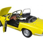 1966 Lotus Elan SE Roadster Yellow 1/18 Diecast Model Car by Sunstar