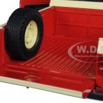 1979 International Scout Terra Pickup Truck IH Dealer Red 1/25 Diecast Model by First Gear