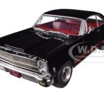 1966 Ford Fairlane 427 Black 1/25 Diecast Model Car by First Gear
