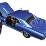 1966 Pontiac GTO Barrier Blue 1/25 Diecast Model by First Gear
