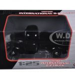 1938 International D-2 Pickup Truck Black 1/25 Diecast Model by First Gear