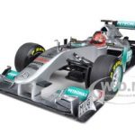 Mercedes AMG F1 Petronas Michael Schumacher 20th Anniversary SPA 1/18 Diecast Model Car by Minichamps