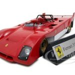 1972 Ferrari 312PB Prototype Red 1/18 Diecast Model Car by GMP