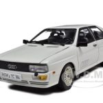 1981 Audi Quattro White 1/18 Diecast Model Car by Sunstar