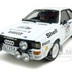 Audi Quattro #27 L.Lampi/P.Kuukkala RAC Rally 1982 1 of 786 Produced 1/18 Diecast Car Model by Sunstar