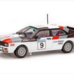 Audi Quattro #9 1982 Rally Acropolis Winner M.Mouton/F.Pons 1/43 Diecast Car Model by Vitesse