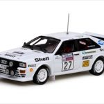 Audi Quattro #27 Lasse Lampi/Pentti Kuukkala 1982 Lombard RAC Rally 1/43 Diecast Model Car by Vitesse