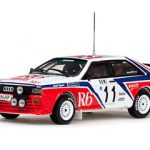Audi Quattro #11 M.Cinotto/E.Radaelli Rally Monte Carlo 1982 1/43 Diecast Model by Vitesse