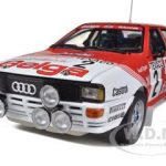 Audi Quattro A1 #2 M.Duez/ W.Lux 1 Winner Boucles De SPA 1983 1/18 Diecast Model Car by Sunstar