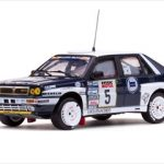 Lancia Delta Integrale #5 B.Saby/D.Grataloup Rally Tour de Course 1989 1/43 Diecast Model Car by Vitesse