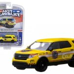 2013 Ford Explorer Ford Fire Department IN BLISTER 1/64 Diecast Car Model by Greenlight