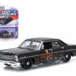 1967 Ford Custom Georgia State Patrol Police Car 1/64 Diecast Model Car by Greenlight