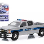2015 Chevrolet Silverado Pickup Truck Police 1/64 Diecast Model by Greenlight