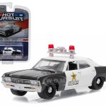 1967 Chevrolet Biscayne Clark County Nevada Sheriff 1/64 Diecast Model Car by Greenlight
