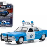 1974 Dodge Monaco Chicago Police Car 1/64 Diecast Model Car by Greenlight