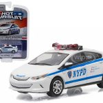 2016 Chevrolet Volt New York City (NYPD) Police Car 1/64 Diecast Model Car by Greenlight